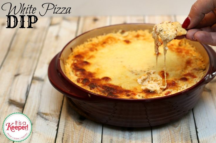 Easy White Pizza Dip from It's a Keeper