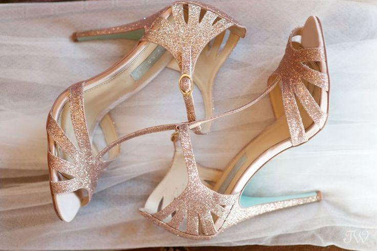 Betsey Johnson wedding shoes captured by Tara Whittaker   Calgary wedding photographer