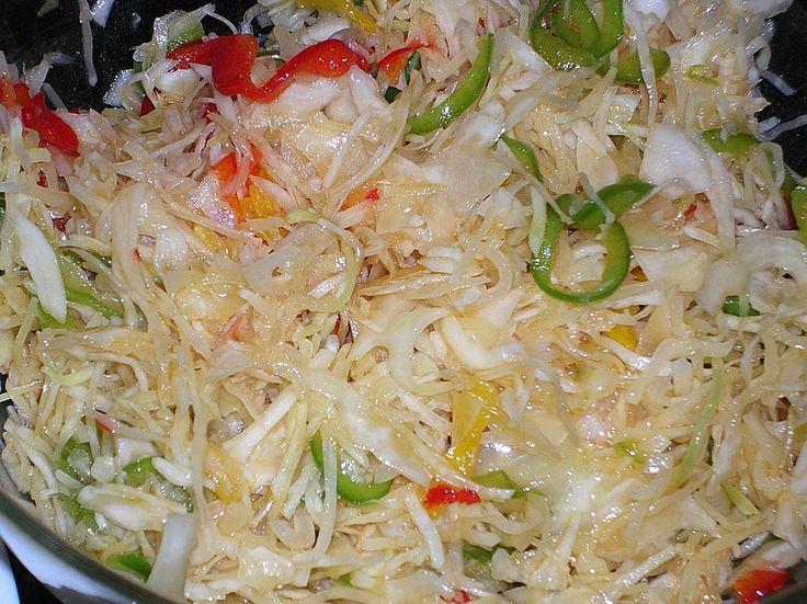 Chefkoch.de Rezept: Kanadischer Weißkrautsalat