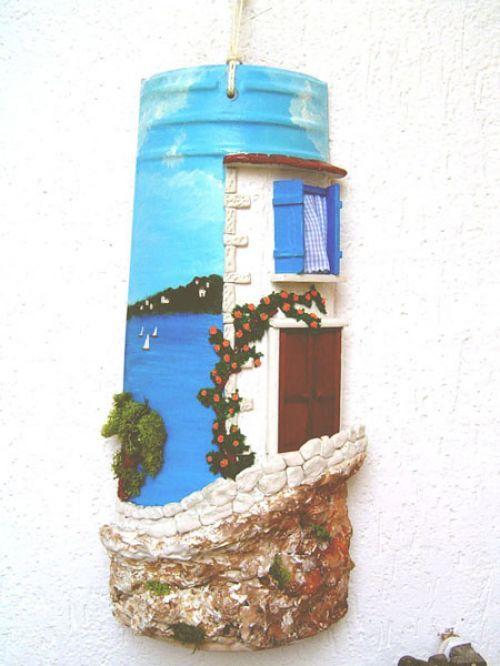 Tegola veduta sul mare