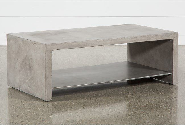 Ultra Coffee Table Coffee Table Living Spaces Concrete Coffee Table Coffee Table