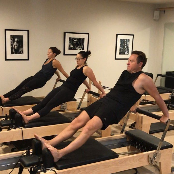Cloe Bunter Pilates On Instagram These Three Legends Back At It With Long Back Stretch Jamie Gonzalez Pilates Reformer Exercises Pilates Pilates Reformer