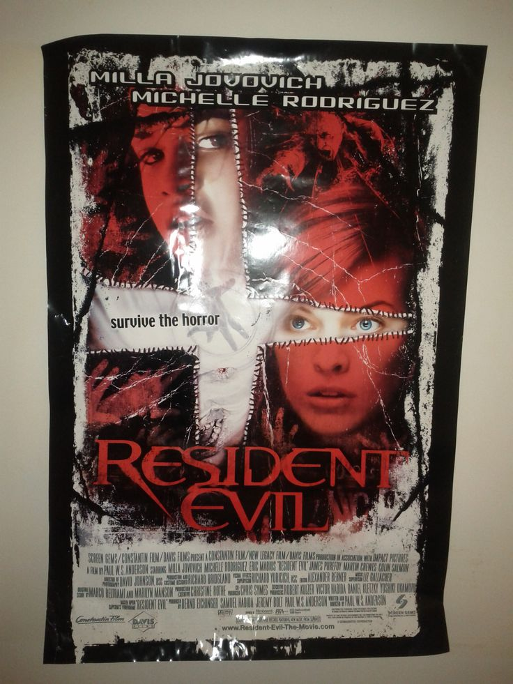 Resident Evil Poster $52.50 (Plus Shipping and Handling)