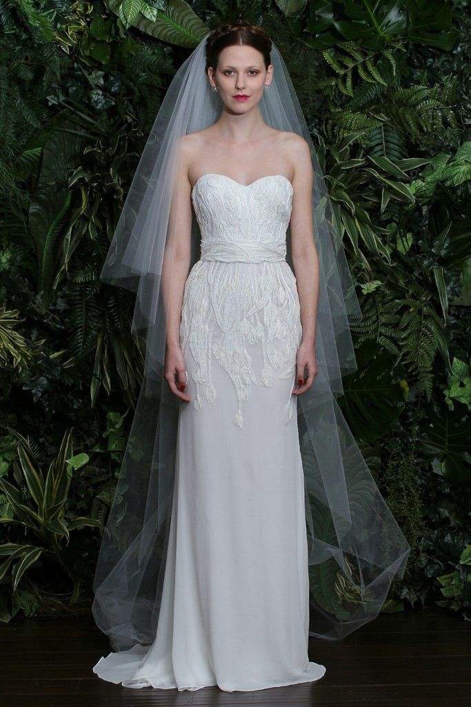 Naeem Khan Bridal Fall 2014 - Slideshow - Runway, Fashion Week, Reviews and Slideshows - WWD.com