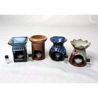"""Porcelain Oil Burner - Assorted 4"""""""