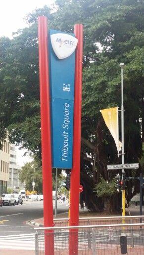 MyCiti sign at Thibault Square