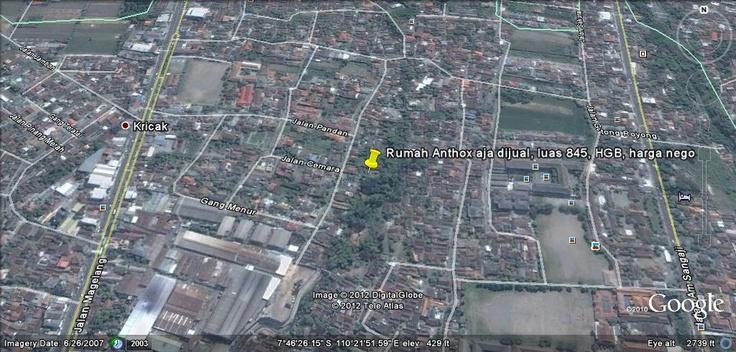 peta lokasi rumah pak antok