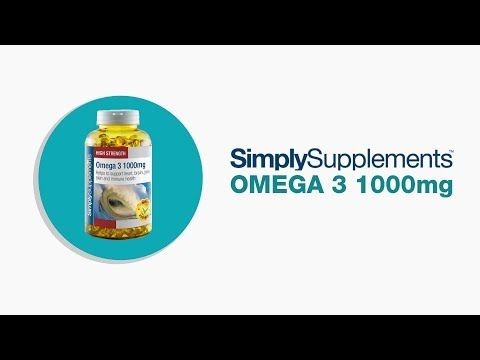 Omega 3 1000mg | Simply Supplements