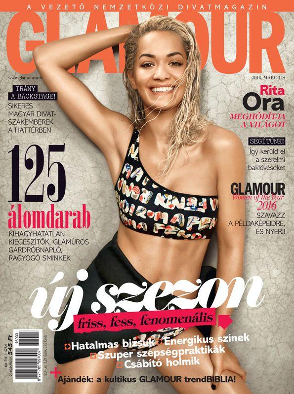 Rita Ora. March 2016 issue. Photo by Matt Irwin