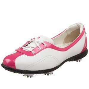 I lLOVE this golf shoe style!! Callaway Women's Half Lace Golf Shoe