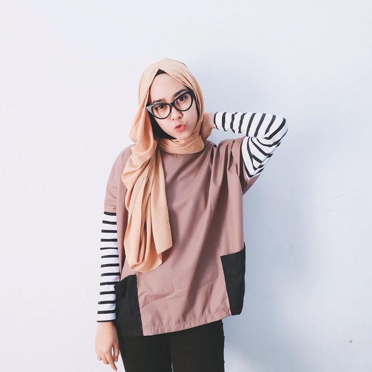 Top&hijab by @lubna_hijab by strngrrr