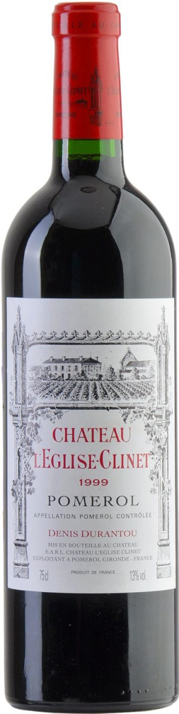 Вино Шато Л'Эглиз-Клине, 1999 купить Chateau L'Eglise-Clinet, 1999, 750 мл. Шато Л'Эглиз-Клине. Красное
