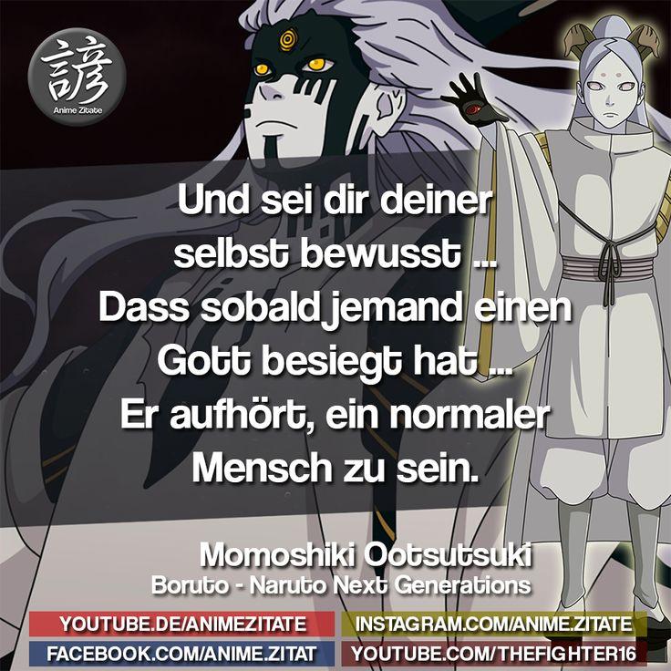 MomoshikiOotsutsuki Naruto AnimeZitate Anime zitate