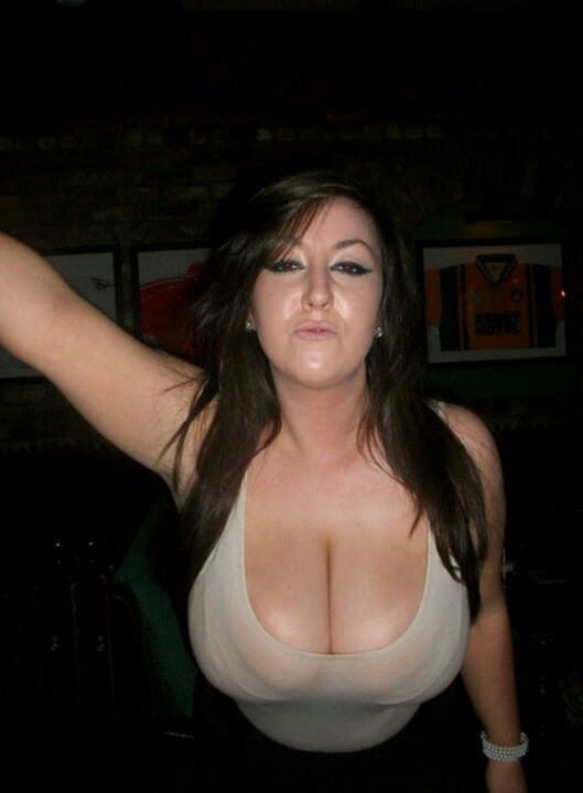 Hot chick in underwear nude