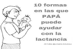 10 ilustraciones de cómo papá puede ayudar en la lactancia | Blog de BabyCenter