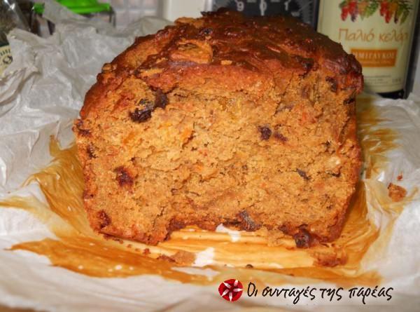 Κέικ με ταχίνι χωρίς ζάχαρη #sintagespareas