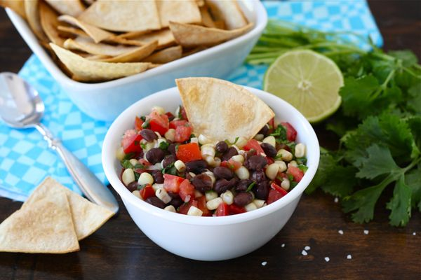 black bean corn salsa + 9 other amazing salsa recipes | Rainbow Delicious