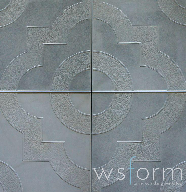 Gjutform - pampig - Gjut din egen marksten / trädgårdsplattor i betong. Gjuta betong är enkelt, läs mer i blogginlägget eller besök www.wsochcompany.se för att handla :)