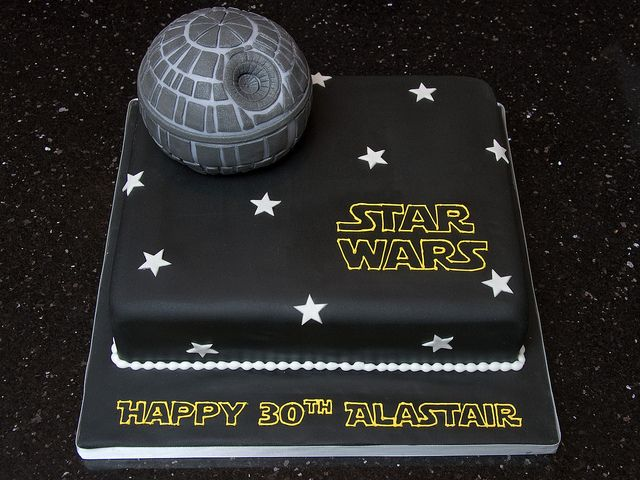pinning ideas for Van's cake since I promised him Death Star cake... what was I thinking??? The Angry birds were sooo easy... this won't be lol
