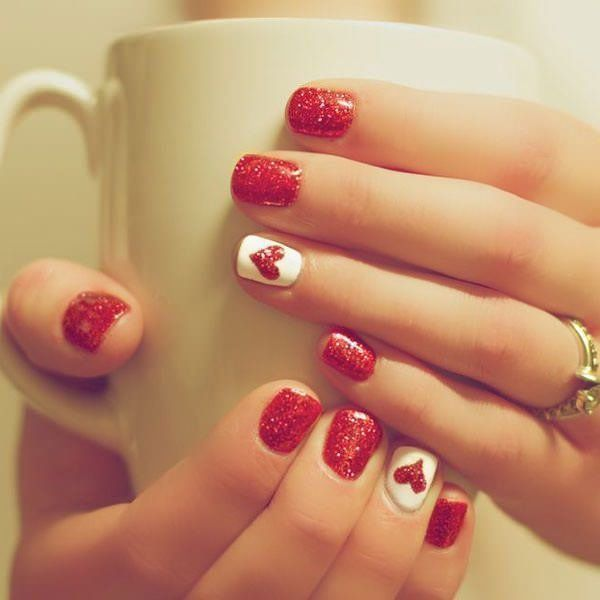 Nice Easy Nail Art Designs For Short Nails To Do At Home Latest Style Pepino Top Nail Ar Cute Nail Art Designs Christmas Nails Easy Nail Designs Valentines