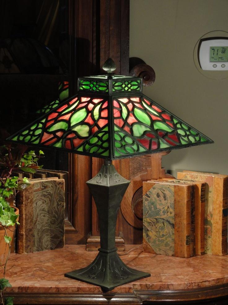247 Best Antique Slag Glass Lamps Images On Pinterest