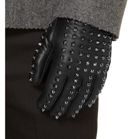 Burberry Prorsum  Studded Leather Gloves: Gloves Mr Porter, Men Style, Men Accessories, Leather Gloves, Prorsum Studs Leather, Gloves Burberry Prorsum, Men Fashion, Burberry Prorsum Studs, Studded Leather