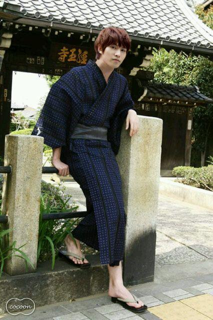 Lee Jong-Hyun (이종현) of CN Blue in a Yukata