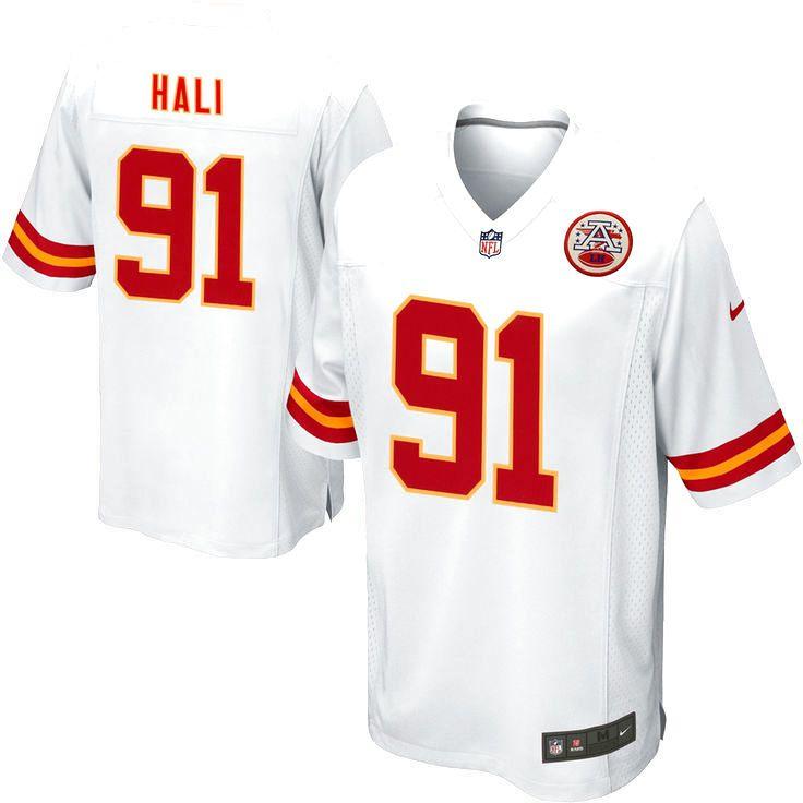 Tamba Hali Kansas City Chiefs Nike Youth Alternate Game Jersey – White - $74.99