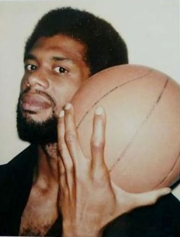 """Kareem Abdul-Jabbar (born Ferdinand Lewis Alcindor, Jr.), retired NBA player. He is the leading scorer in the history of the NBA. During his career, he was a record 6x-NBA MVP, a record 19x-NBA All-Star, a 15x-All-NBA selection, & an 11x-NBA All-Defensive Team member. He has been named one of 50 Greatest Players in NBA History. ESPN named him the """"greatest player in college basketball history' while others have argued he is the greatest basketball player of all time."""