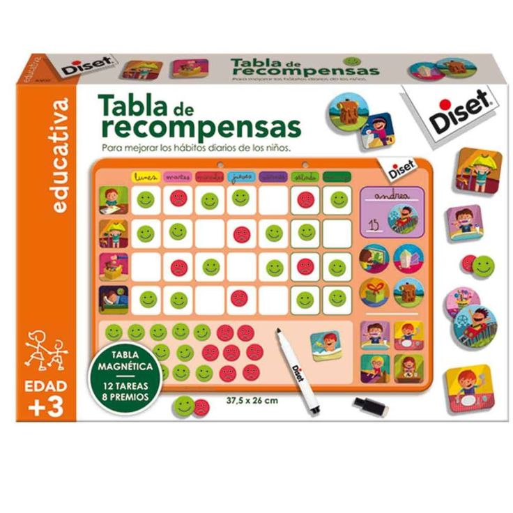 Tabla de Recompensas Diset                                                                                                                                                                                 Más