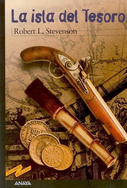 La isla del tesoro es una novela de aventuras escrita por el escocés Robert Louis Stevenson, publicada en libro en Londres en 1883.