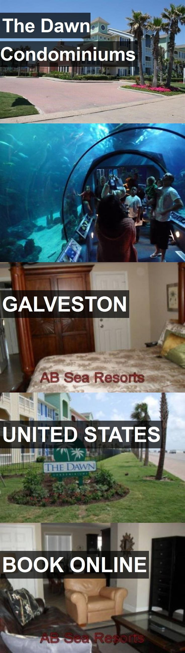 Hotel The Dawn Condominiums in Galveston, United States. For more information, photos, reviews and best prices please follow the link. #UnitedStates #Galveston #travel #vacation #hotel