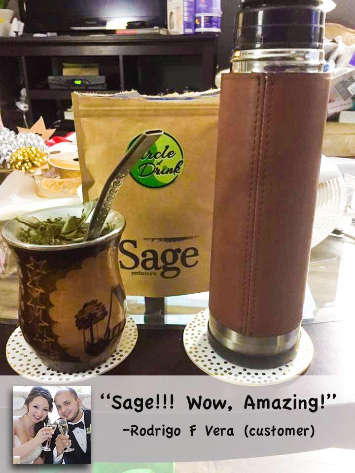 Sage Yerba Mate. It's Divine! #sage #yerbamate #heavenly