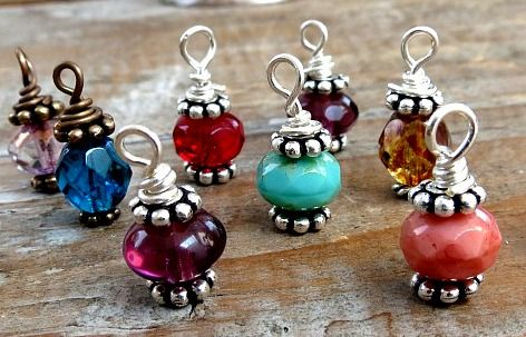 'dangles' or 'drops' by www.addiebeads.com