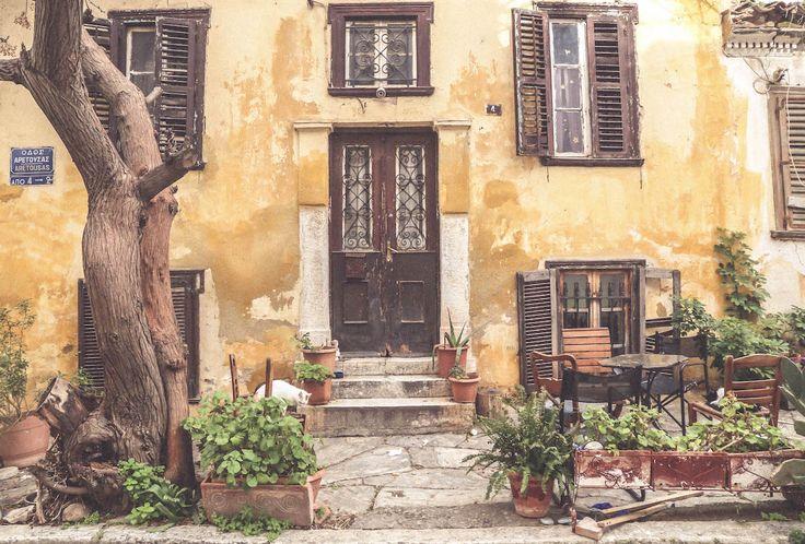 Anafiotika Athens Greece travel decadence blogger