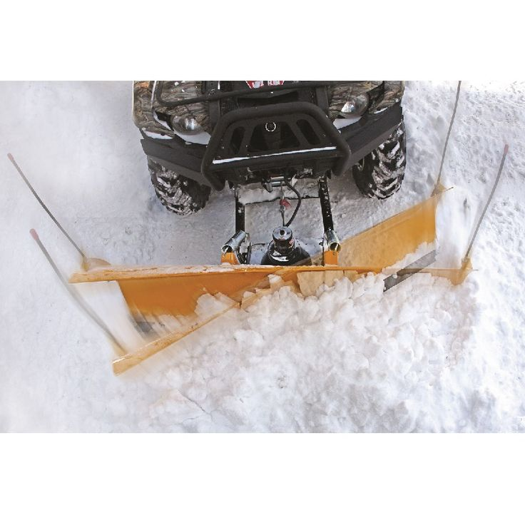 Warn ATV Plow Power Pivot rotates your snow plow blade by up to 25 degrees. More info at http://www.montanajacks.com/warnplowpowerpivotwrn-73860.aspx