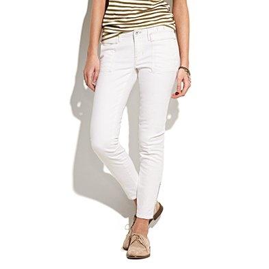 yaA Mini-Saia Jeans, White Skinny, Skinny Switchyard, Switchyard Jeans, White Crop, White Pants, White Skinnies, Crop Jeans