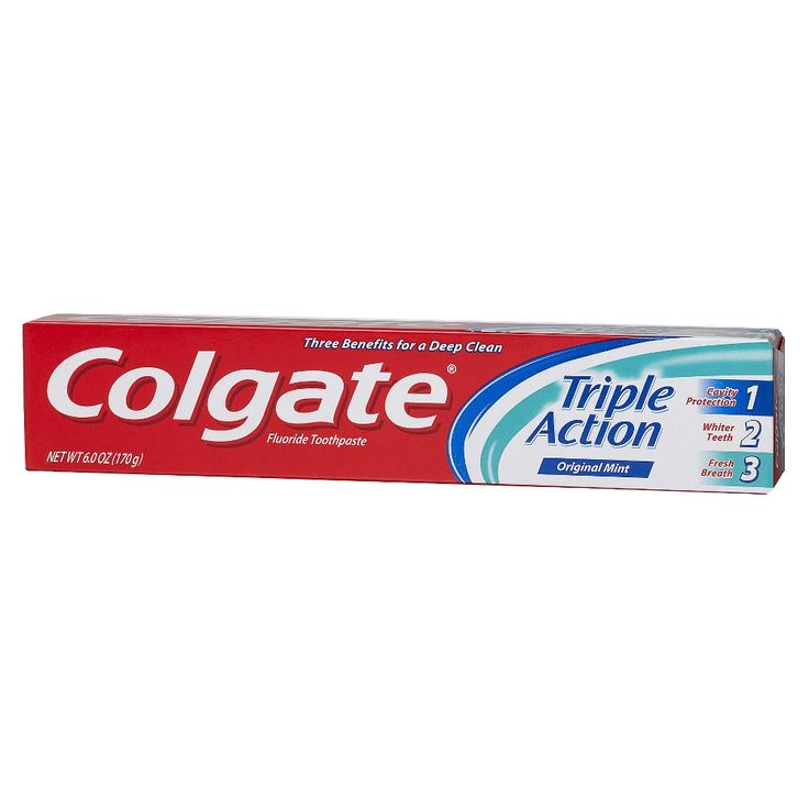 Colgate Triple Action Original Toothpaste - 6oz