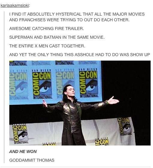 SDCC 2013, in a nutshell. (I'm still amazed that all he had to do was raise a finger and all of Hall H went silent)