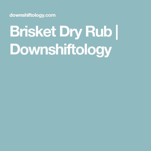 Brisket Dry Rub | Downshiftology
