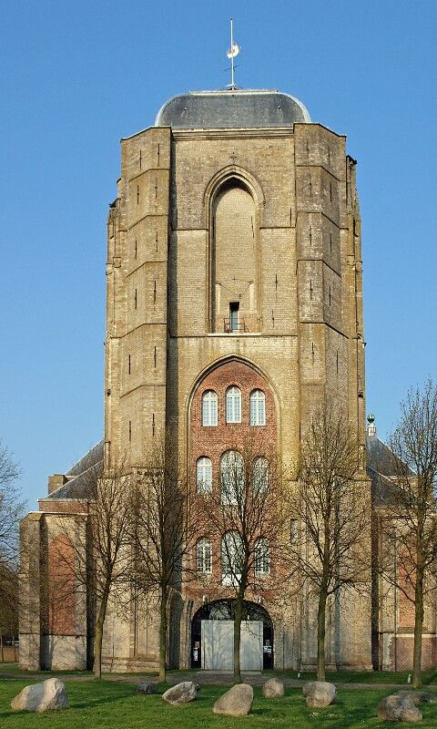 Great Church Veere year 1348,Zeeland the Netherlands.