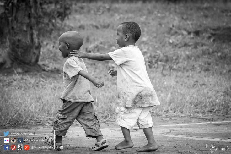 #Brotherhood Let me try to write in a formal style. Let's go… By sharing this picture today, I want to talk about #love, #friendship, #brotherhood, #blood and the list goes on. It is just #priceless. To all my brothers out there. #Photography #Black_and_white #kids #children #happiness #Rwanda #FernandPhotography 12:08 PM. 1/1250 sec at f/4.5; ISO 400, 120 mm Dimensions: 5184 x 3456