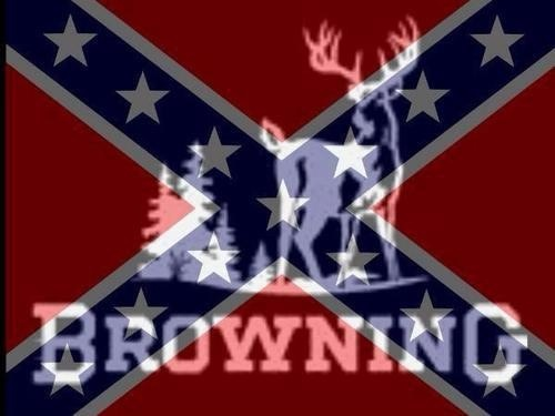 Browning rebel flag