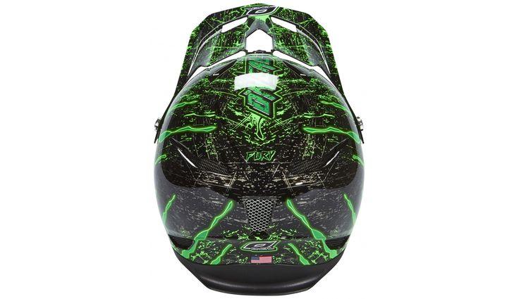 ONeal Fury RL Downhill helm Crawler zwart | Bestellen op bikester.nl