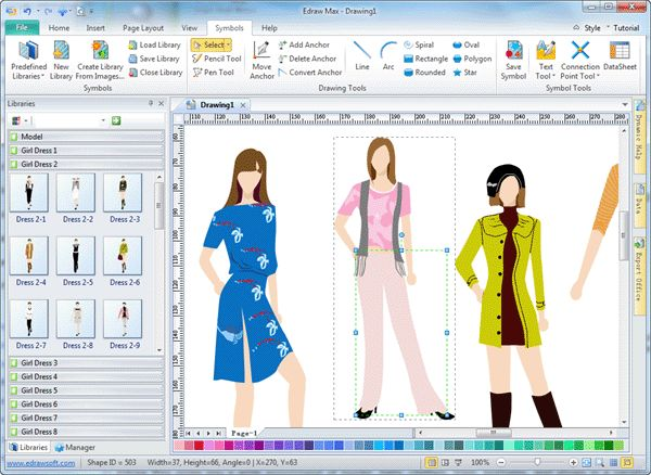 Fashion designing is one of the smart job in recent time. Fashion designers can use computers to construct patterns, design clothing, and create collections
