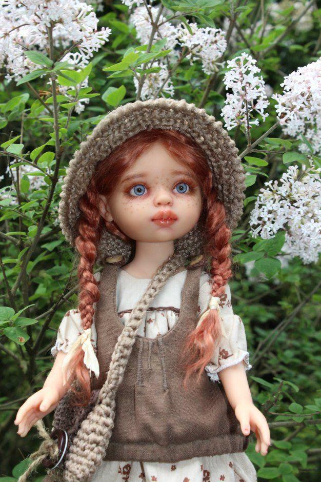 Весеннее настроение с Энн Ширли. Куколка ООАК от Паола Рейна / Paola Reina, Antonio Juan и другие испанские куклы / Бэйбики. Куклы фото. Одежда для кукол