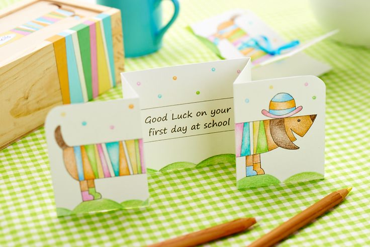 Sausage Dog Stationery: your little one will love this cute set for the start of term [Crafts Beautiful, September 2014]