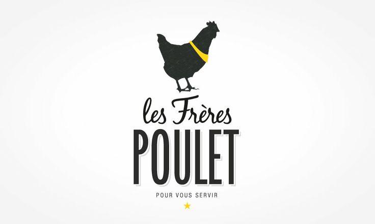 LES FRERES POULETS ROTISSERIE FOOD FOODING SHOP MARSEILLE CIOTAT POULET CHICKEN LOGO LOGOTYPE GRAPHISME DESIGN ILLUSTRATION C&C C&CBRANDING #CCBRANDING www.ccbranding.fr