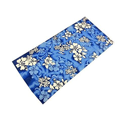 "Blue Hibiscus Flowers Reactive Beach Towel 30 X 60. Brand New Product. After a swim it feels great to wrap up in our beach towels because they re luxuriously soft and absorb moisture quickly.100% Cotton Beach TowelMeasures 30"" x 60""Beautiful ColorsBrand New. Item Dimensions: weight: -1, width: 100, height: 1500. Machine wash, Tumble dry, Wash dark colors separately, Do not bleach, Do not warm iron."