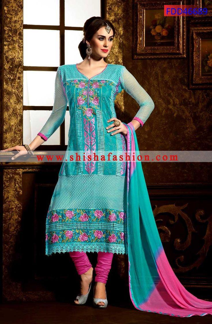 110 best Salwar Kamiz images on Pinterest | Georgette fabric ...